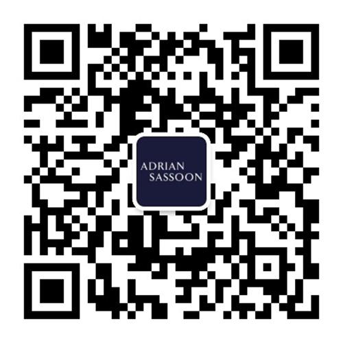 Adrian Sassson WeChat QR code