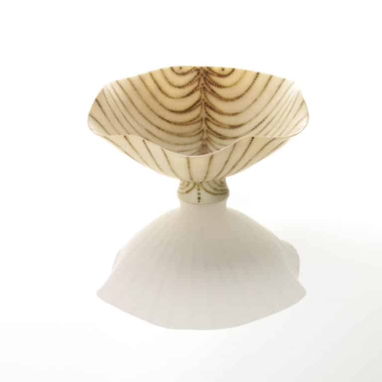 Porcelain sculpture by Mary Rogers
