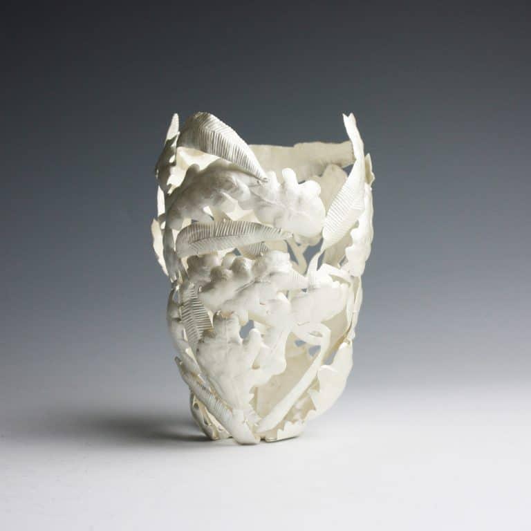 Silver sculpture by Julie Blyfield