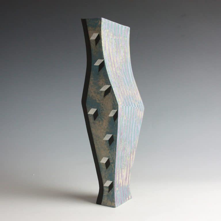 Ceramic sculpture by Elizabeth Fritsch