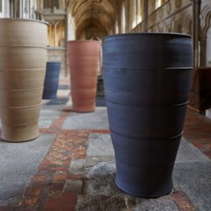 Monumental vase by Julian Stair
