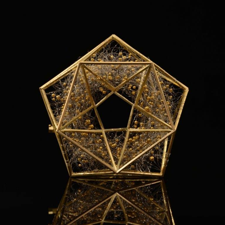 Pentagonal Brooch, 2013