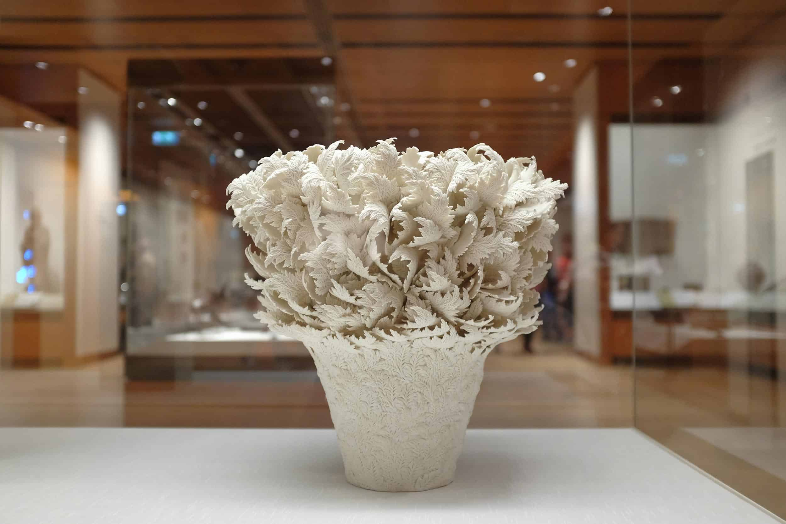 Sculpture by Hitomi Hosono at the British Museum