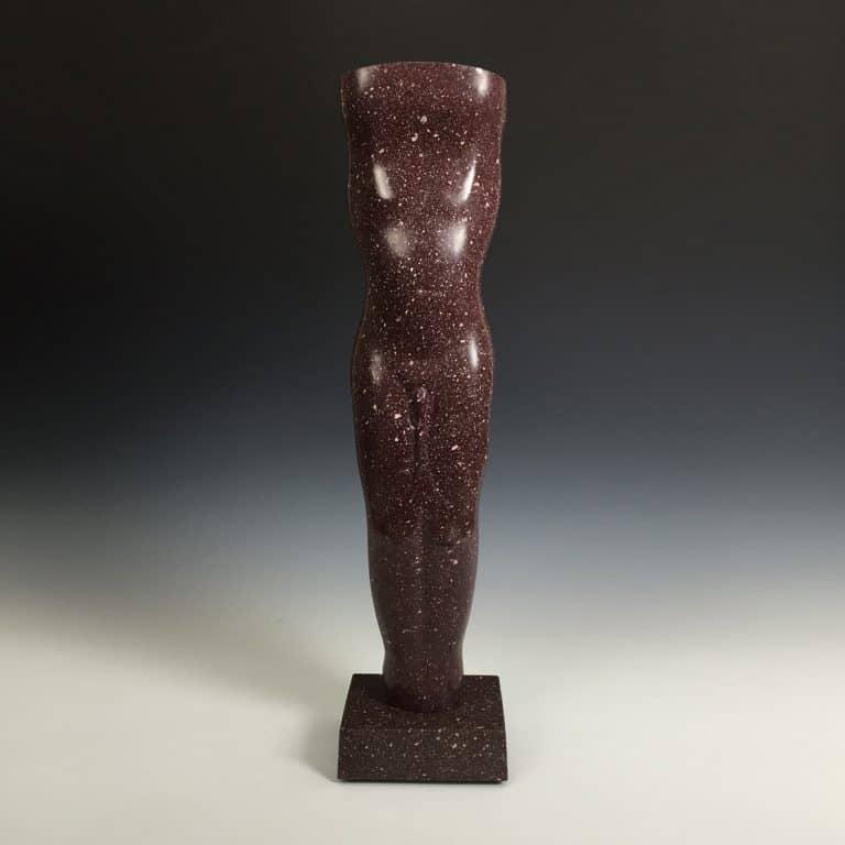 Hardstone sculpture by Stephen Cox