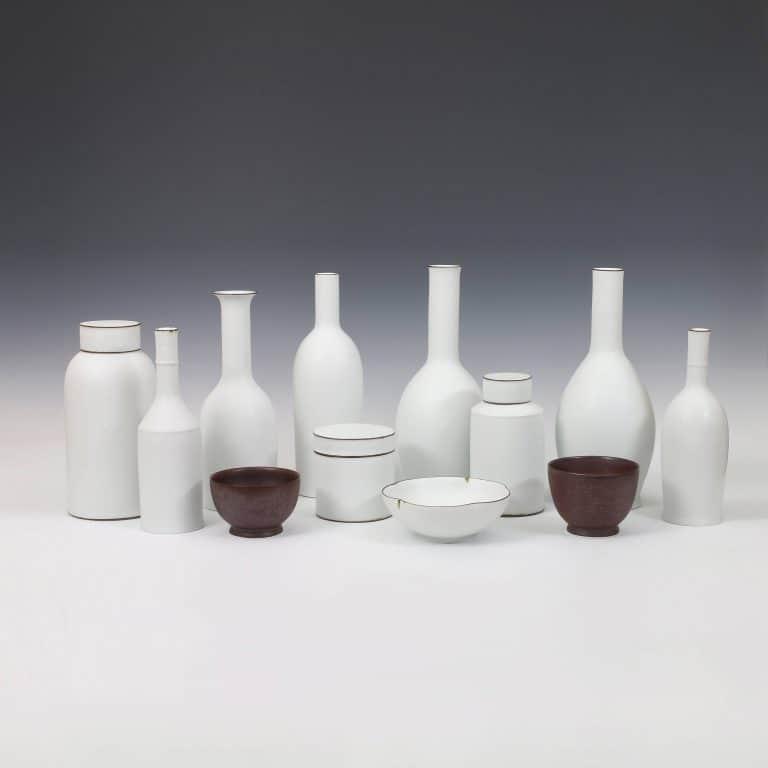 Porcelain sculpture by Kirsten Coelho