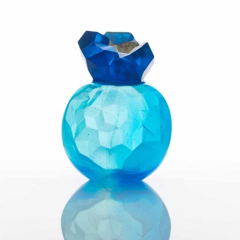 Blue Topaz Geode, 2016
