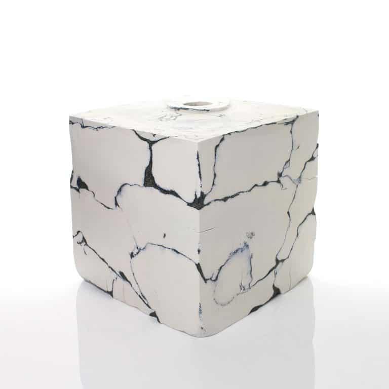 Porcelain sculpture by Fernando Casasempere
