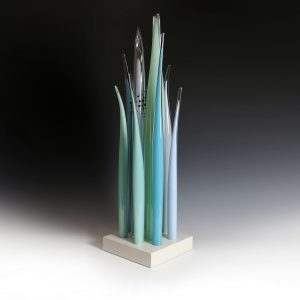 Glass sculpture by Rachael Woodman