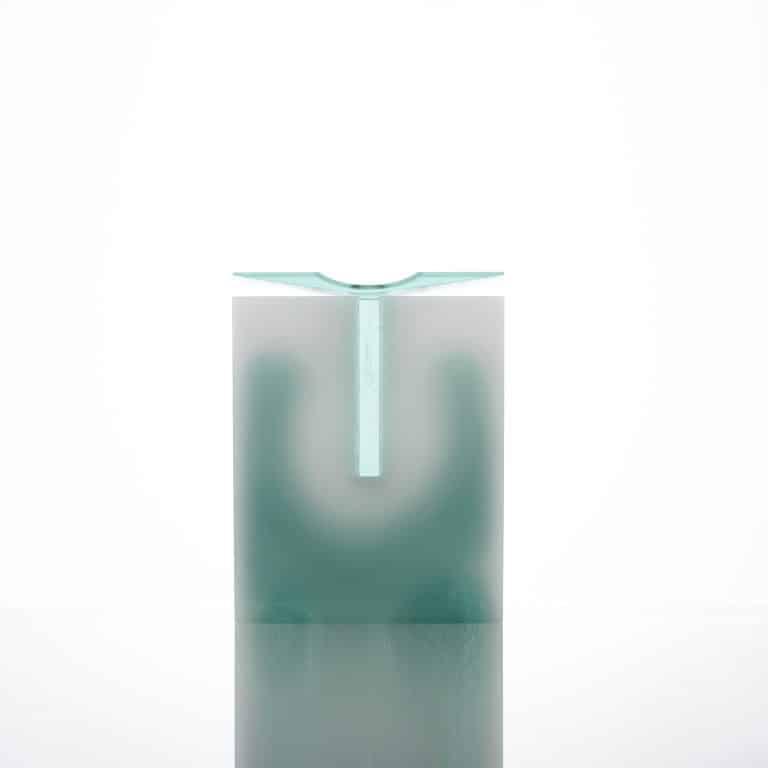 Glass sculpture by Bruno Romanelli