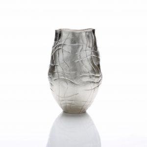 Silver sculpture by Hiroshi Suzuki