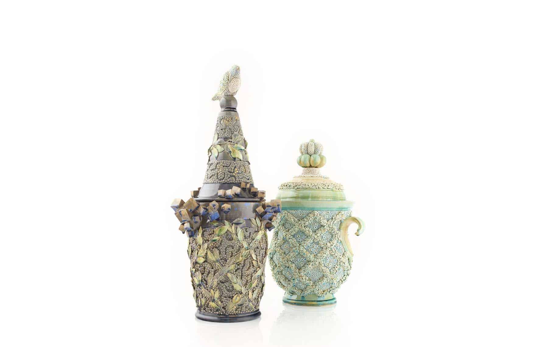 Ceramic sculpture by Kate Malone