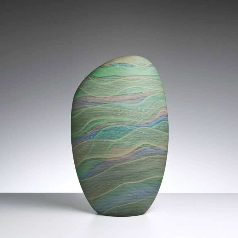 Glass sculpture by Clare Belfrage