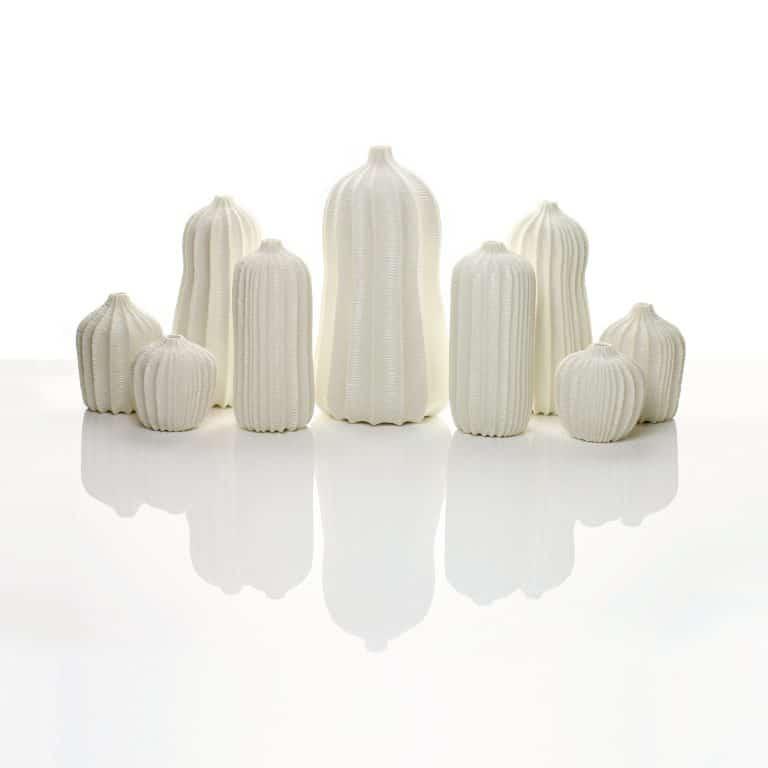 Garniture of Nine Vases, 2017