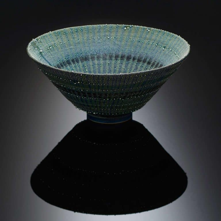 Porcelain sculpture by Takahiro Kondo