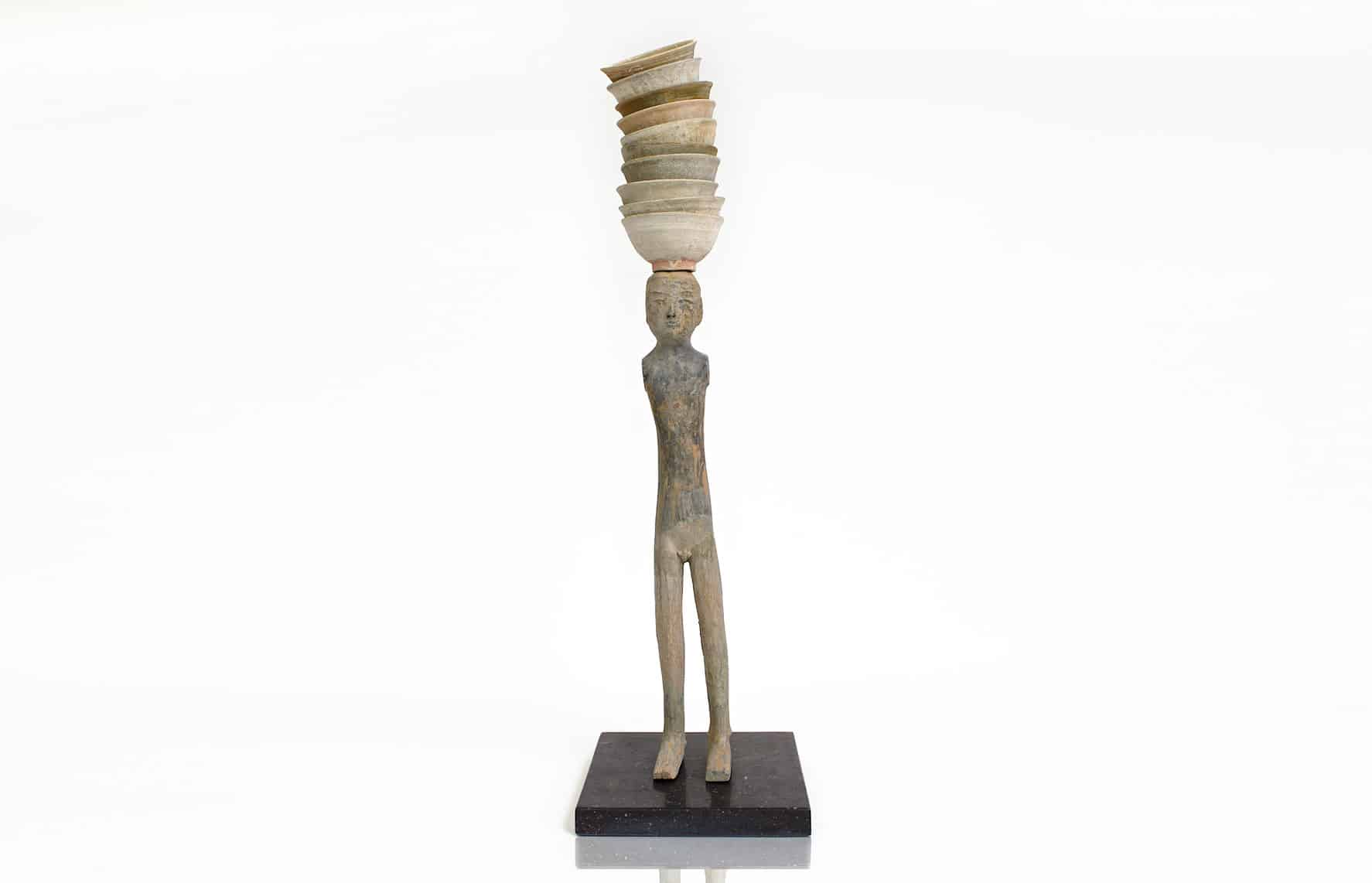 Ceramic sculpture by Bouke de Vries