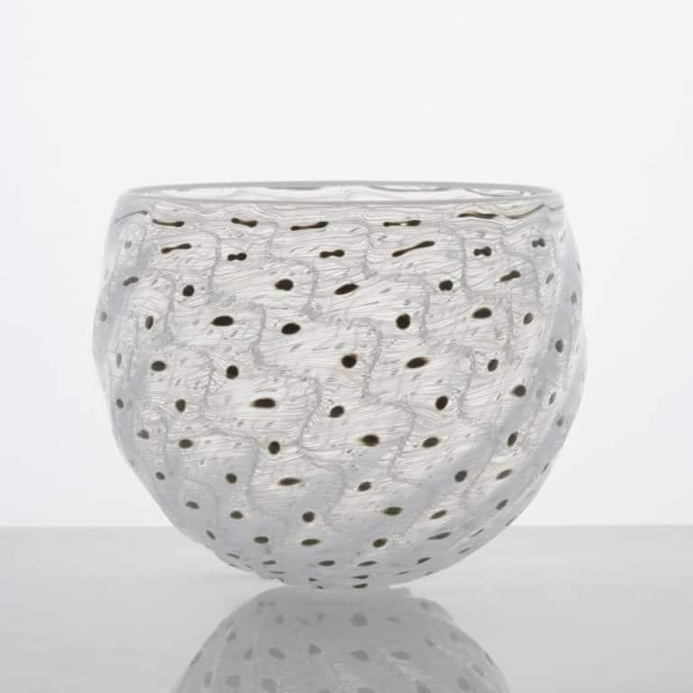 Glass sculpture by Tobias Møhl