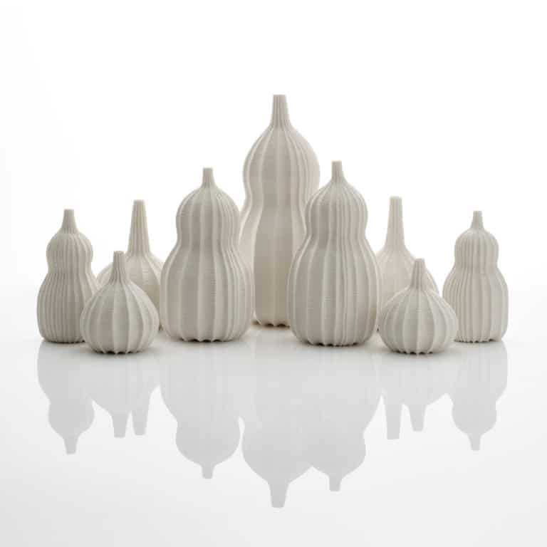 Porcelain sculpture by Andrew Wicks