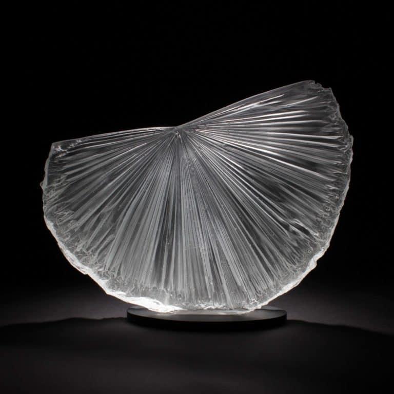 Glass sculpture by Colin Reid