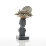 Ceramic sculpture by Bouke de Vries