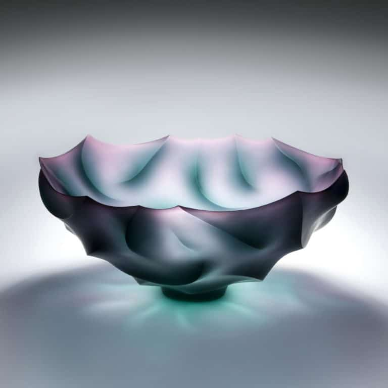 Glass sculpture by Joon Yong Kim