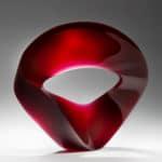 Glass sculpture by Heike Brachlow
