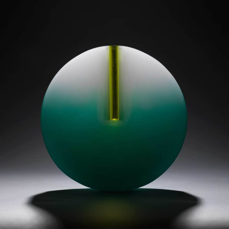 Glass sculpture by Bruno Romanelli