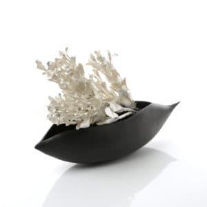Metal sculpture by Junko Mori