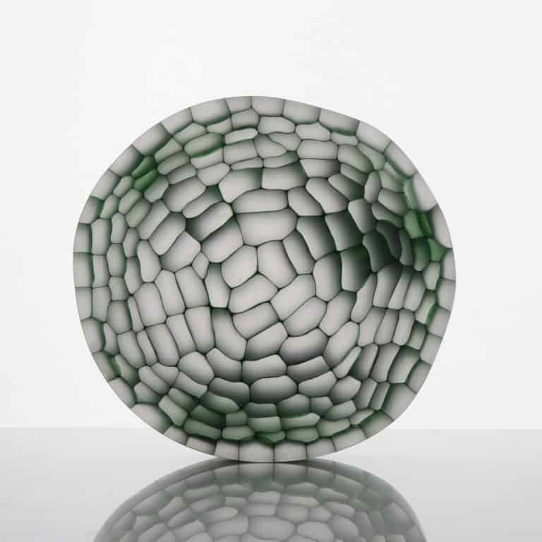 Glass Sculpture by Trine Drivsholm