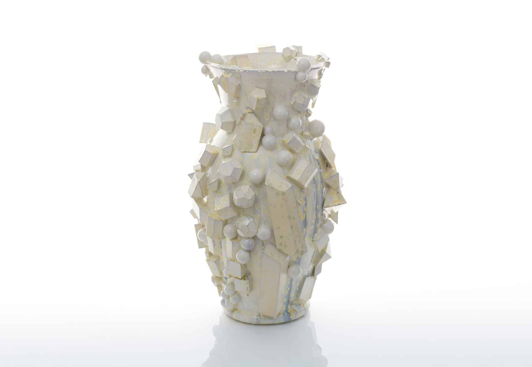 Sculptural vase by Kate Malone