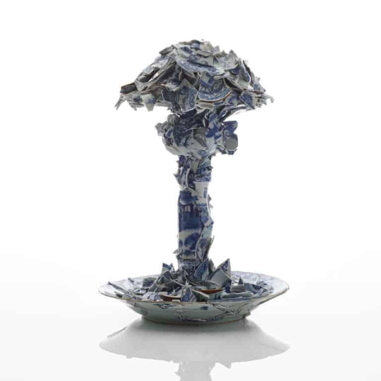 Porcelain Mushroom Cloud, 2020