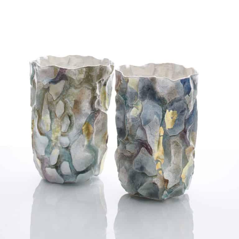 A Pair of Terra Vases, 2020
