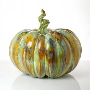Kate Malone A Mottled Pumpkin, 2020 Crystalline-glazed stoneware