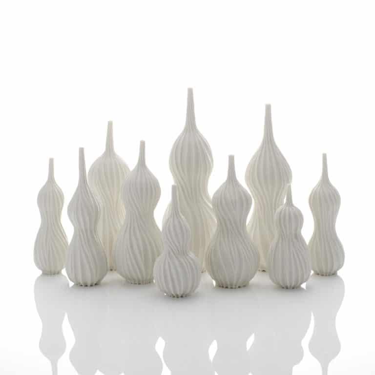 Still Life of Ten Gourd Vases, 2020
