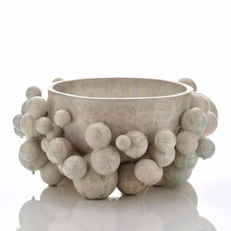 Kate Malone An Atomic Snow Bowl, 2020 Crystalline-glazed stoneware