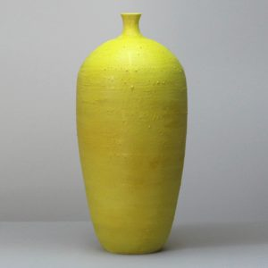 Takahiro Kondo Yellow Mist, 2020 Porcelain with silver mist over-glaze Made by the artist in Japan