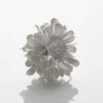 Junko Mori Silver Organism; Mini Twisted Leaf, 2020 Forged Fine silver 999, 280g