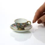 A Sèvres Miniature Cup & Saucer