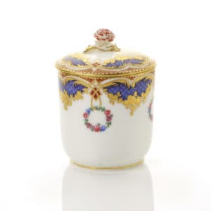 A Sèvres Lidded Pot, frizes riches