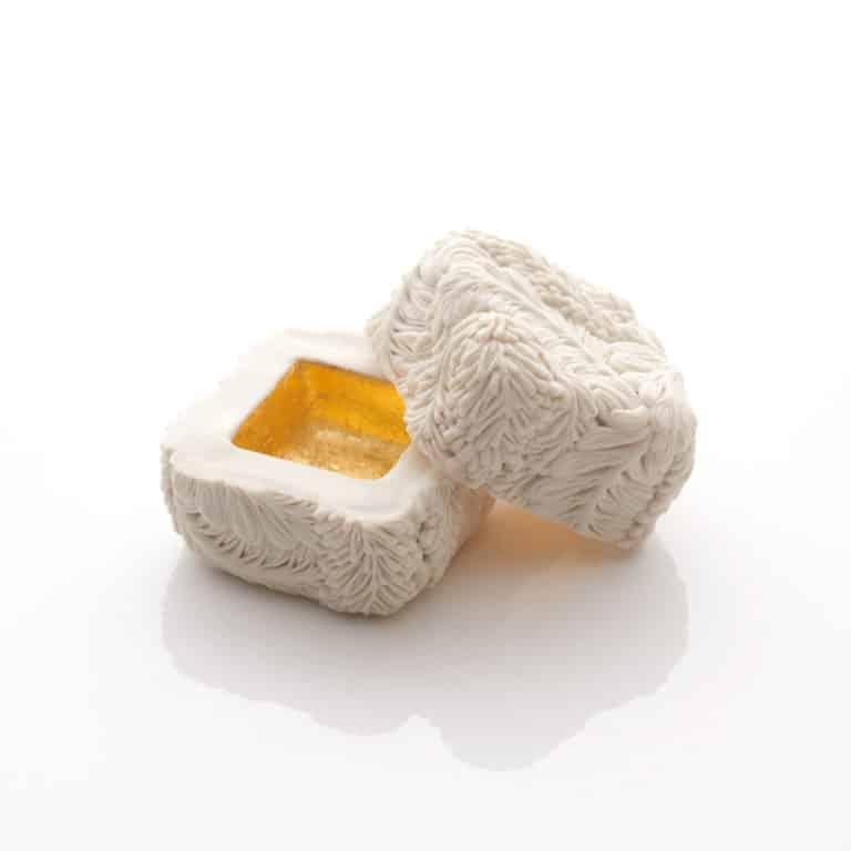 A Very Very Small Square Wisteria Box, 2020 by Hitomi Hosono