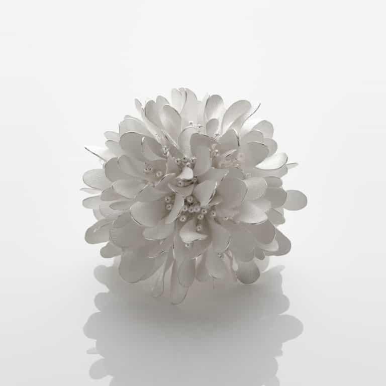 Silver Organism; Rusty Dew, 2020 by Junko Mori