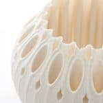 Detail of Filigree of Porcelain: Oasis, 2020 by Nico Conti