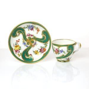 A Sèvres Cup & Saucer, 1760