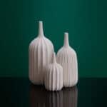 Trio of vases by Andrew Wicks